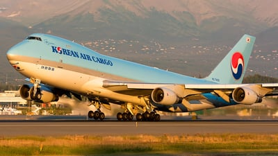 HL7400 - Boeing 747-4B5F(SCD) - Korean Air Cargo