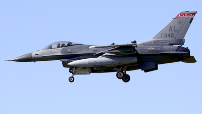87-0342 - General Dynamics F-16C Fighting Falcon - United States - US Air Force (USAF)