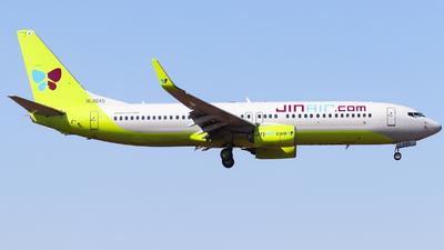A picture of HL8245 - Boeing 7378Q8 - Jin Air - © AGUIJUN-Lei