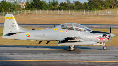 FAC3120 - Embraer A-29B Super Tucano - Colombia - Air Force