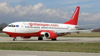 G-CELR - Boeing 737-330(QC) - Flyglobespan