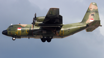 735 - Lockheed C-130H Hercules - Singapore - Air Force