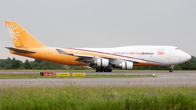 ER-BAJ - Boeing 747-412(BDSF) - Uni-Top Airlines
