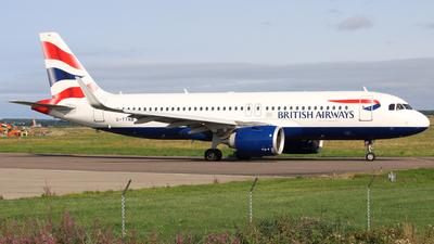 A picture of GTTNB - Airbus A320251N - British Airways - © Max Karagoz