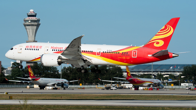 A picture of B2723 - Boeing 7878 Dreamliner - Hainan Airlines - © 1219qiuda