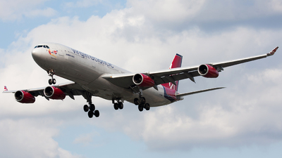 G-VAIR - Airbus A340-313X - Virgin Atlantic Airways