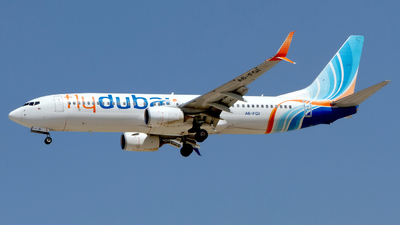 A picture of A6FGI - Boeing 7378KN - FlyDubai - © M. Azizul Islam