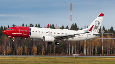 EI-FHX - Boeing 737-8JP - Norwegian