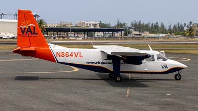 N864VL - Britten-Norman BN-2A-9 Islander - Vieques Air Link
