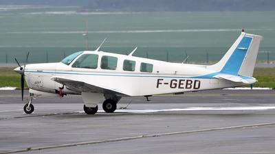 A picture of FGEBD - Beech A36 Bonanza - [E1592] - © bruno muthelet