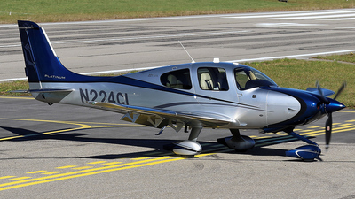 A picture of N224CL - Cirrus SR22T - [0995] - © Jean-Charles Sautaux