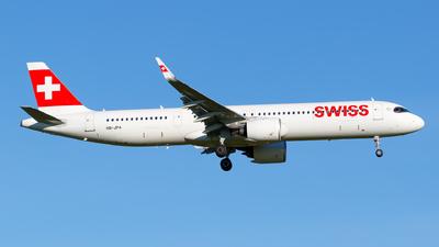 A picture of HBJPA - Airbus A321271NX - Swiss - © Matteo Lamberts