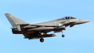 ZK312 - Eurofighter Typhoon FGR.4 - United Kingdom - Royal Air Force (RAF)