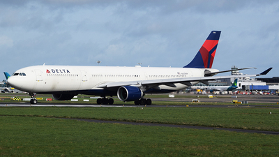 A picture of N805NW - Airbus A330323 - Delta Air Lines - © John Fitzpatrick