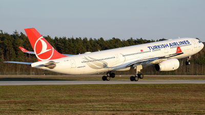 A picture of TCJNH - Airbus A330343 - Turkish Airlines - © Henrik Hedde