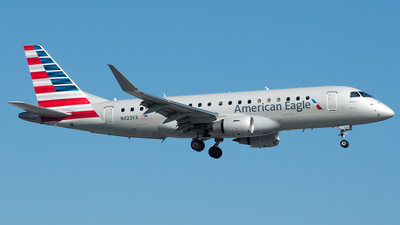 N423YX - Embraer 170-200LR - American Eagle (Republic Airways)
