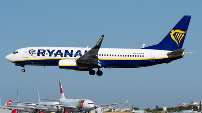 A picture of EIDYX - Boeing 7378AS - Ryanair - © Rui Cardoso