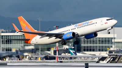A picture of CFWGH - Boeing 73786J - Sunwing Airlines - © Chung Kwok