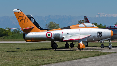 MM53-6591 - Republic F-84F Thunderstreak - Italy - Air Force