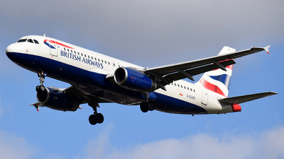 G-EUUE - Airbus A320-232 - British Airways