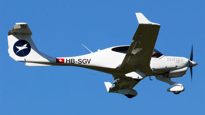 HB-SGV - Diamond DA-40NG Diamond Star - Motorfluggruppe Zurich