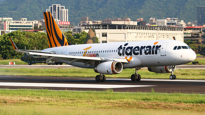 B-50015 - Airbus A320-232 - Tigerair Taiwan