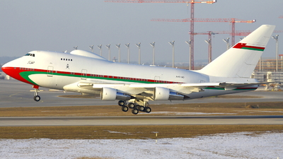 A4O-SO - Boeing 747SP-27 - Oman - Royal Flight