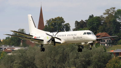 HB-IZB - Saab 2000 - Sky Work Airlines