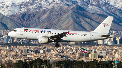 EP-ZAV - Airbus A320-212 - Zagros Airlines