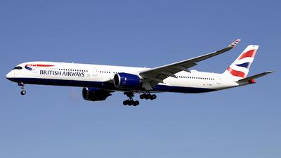 G-XWBG - Airbus A350-1041 - British Airways