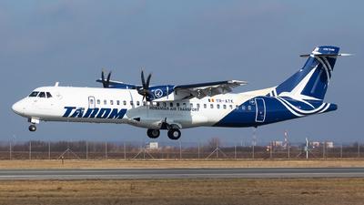 YR-ATK - ATR 72-212A(600) - Tarom - Romanian Air Transport