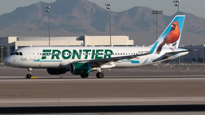 A picture of N228FR - Airbus A320214 - Frontier Airlines - © Felipe García