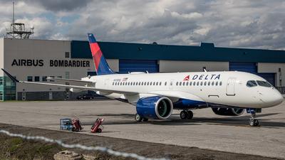 N113DQ - Airbus A220-100 - Delta Air Lines