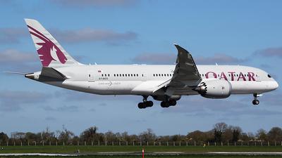 A picture of A7BCS - Boeing 7878 Dreamliner - Qatar Airways - © John Fitzpatrick