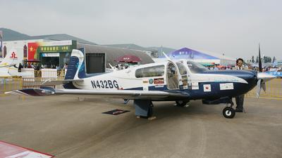 A picture of N432BG - Mooney M20R - [290427] - © hakunamatata