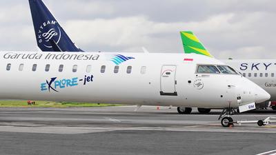 PK-GRM - Bombardier CRJ-1000ER - Garuda Indonesia Explore Jet
