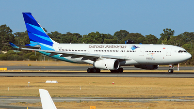 PK-GPS - Airbus A330-243 - Garuda Indonesia
