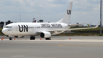 VP-BOW - Boeing 737-8Q8 - United Nations (Nordwind Airlines)