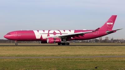 TF-LUV - Airbus A330-343 - WOW Air