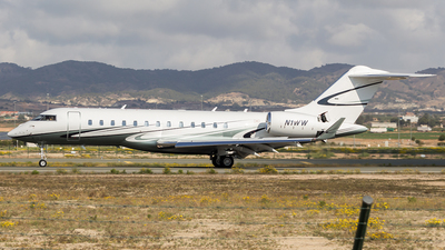 N1WW - Bombardier BD-700-1A10 Global 6000 - Private