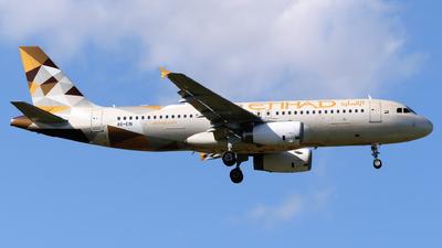A picture of A6EIN - Airbus A320232 - Etihad Airways - © George Chaidaris
