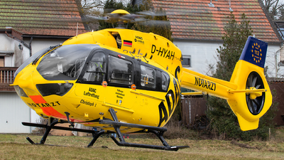 D-HYAH - Airbus Helicopters H145 - ADAC Luftrettung