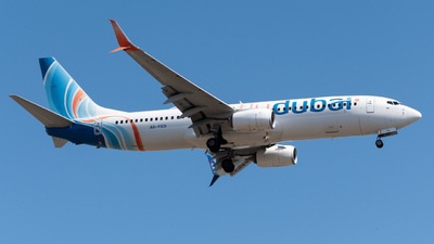 A picture of A6FED - Boeing 7378KN - FlyDubai - © Shylo Pavlo