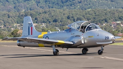 VH-JPV - Hunting Percival Jet Provost T.5A - Private