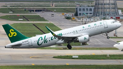 B-6931 - Airbus A320-214 - Spring Airlines