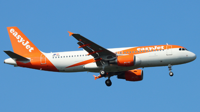 A picture of OEIZD - Airbus A320214 - easyJet - © Justin Stöckel