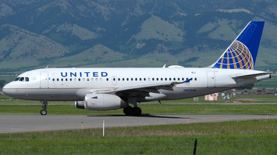 A picture of N813UA - Airbus A319131 - United Airlines - © Jason Whitebird