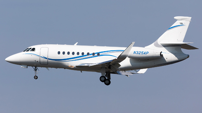 N325AP - Dassault Falcon 2000EX - Private