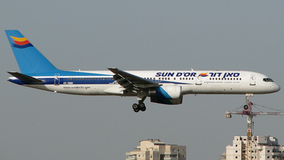 4X-EBM - Boeing 757-258 - Sun d'Or International Airlines