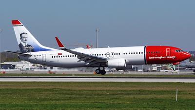 EI-FVH - Boeing 737-8JP - Norwegian